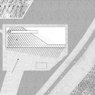 Site plan of Growing Up by New Office Works