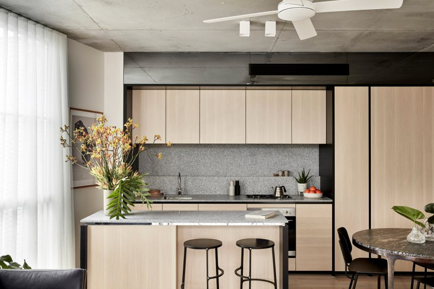 Nth Fitzroy apartments by Fieldwork and Flack Studios