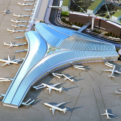 O'Hare Global Concourse and Terminal by Studio ORD