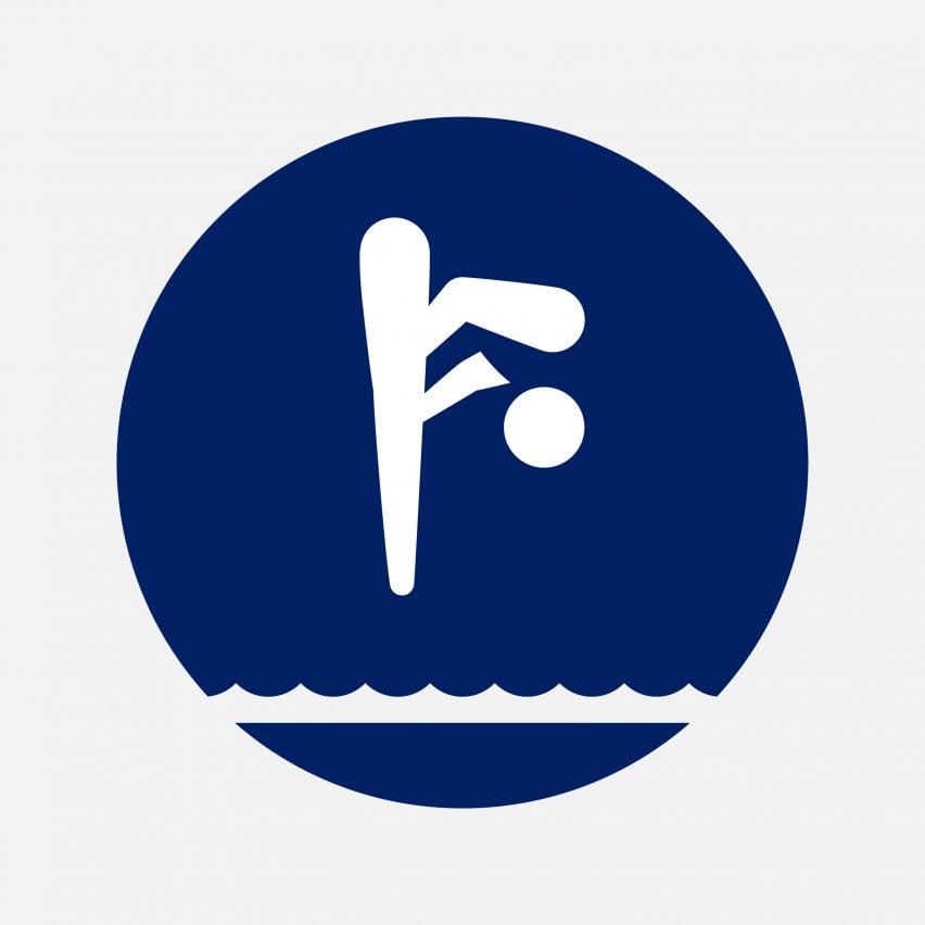 Tokyo Olympics pictogram