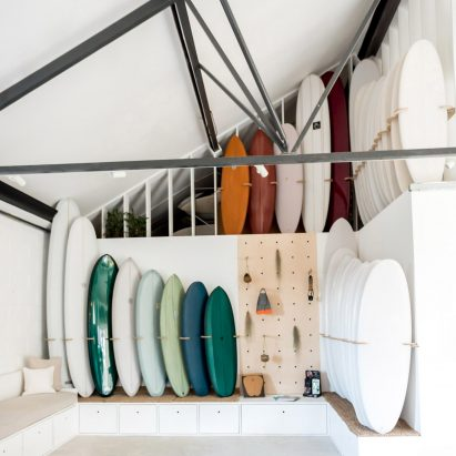 Surfers Turn Run Down Cornwall Factory Into Open Surf Shop And Cafe
