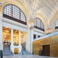 Beaux-arts train station in Ottawa becomes temporary home for Canada's Senate
