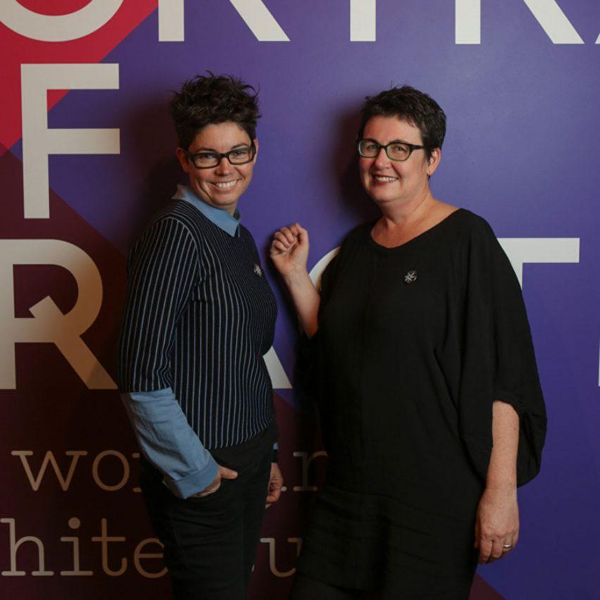 Campeones para mujeres en arquitectura y diseño: Salón.
