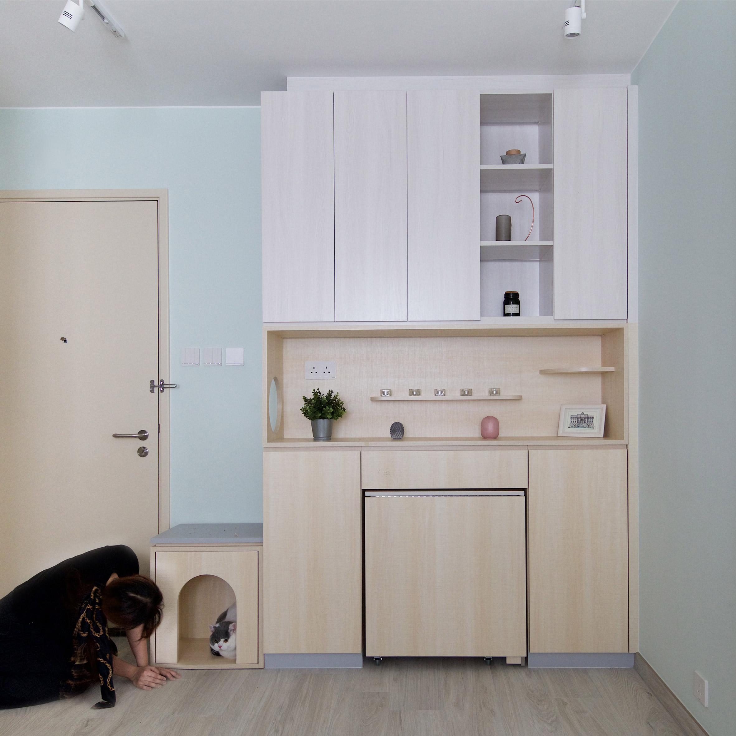 Ital Designs Hong Kong pets playground apartment by sim-plex design studio is