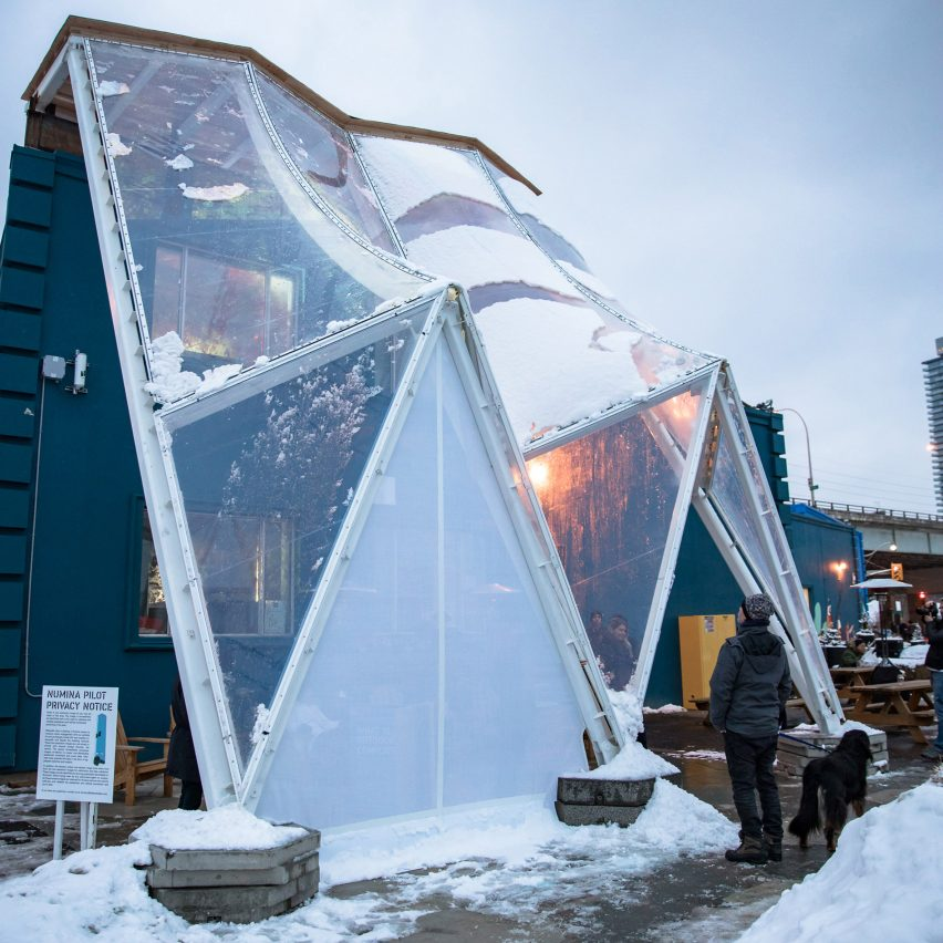 Sidewalk Labs unveils Building Raincoat prototype for smart city in Toronto