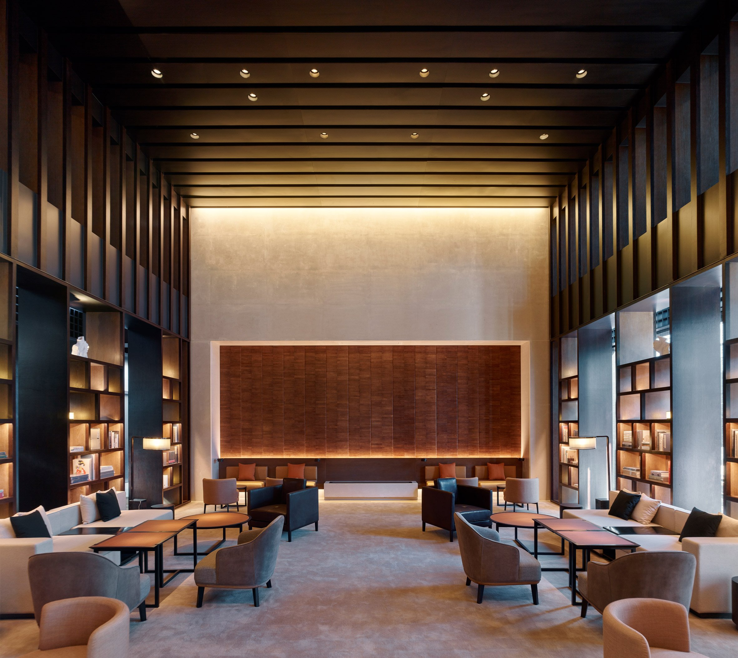 Interiors of Puxuan Hotel and Spa, designed by MQ Studio