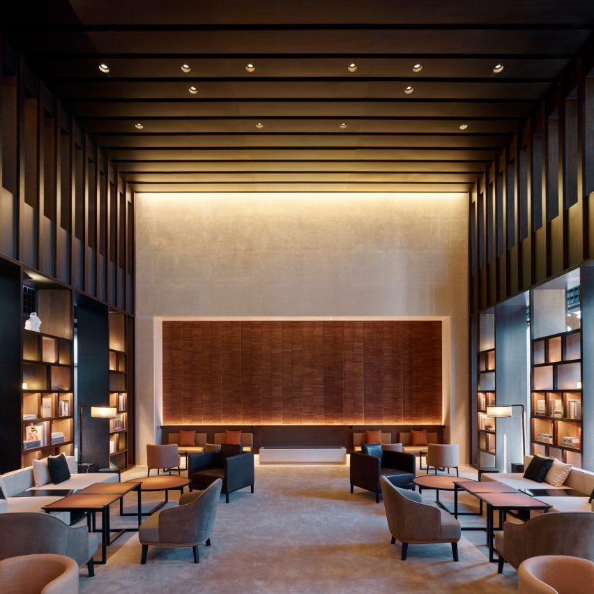 MQ Studio designs The PuXuan hotel inside Guardian Art Center in Beijing