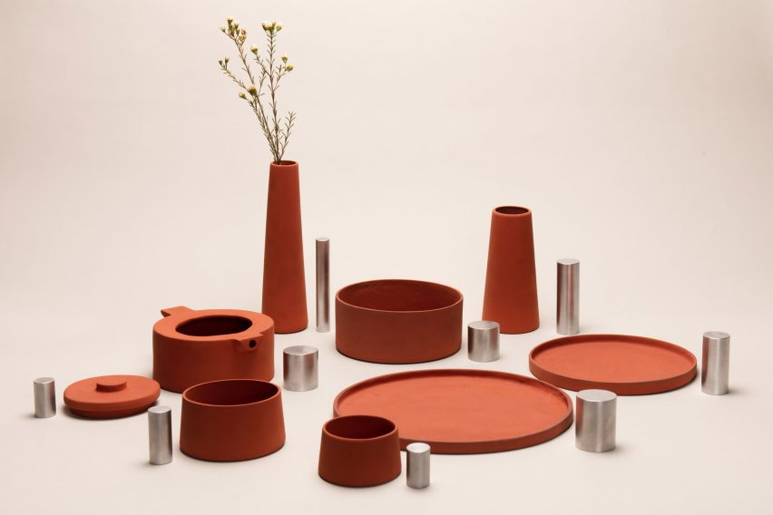 Royal College of Art designers transform industrial waste into functional tableware objects