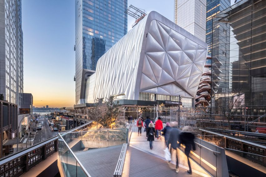 The Shed at Hudson Yards by Diller Scofidio + Renfro