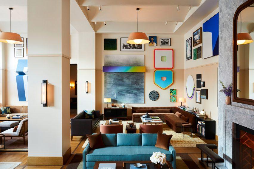 Shinola hotel by Gachot Studios
