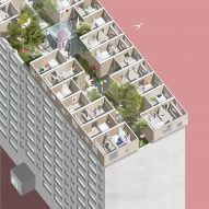 Sigurd Larsen proposes modular village on apartment block roof
