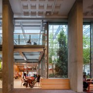 Harvard's brutalist Smith Campus Center receives dramatic makeover by Hopkins