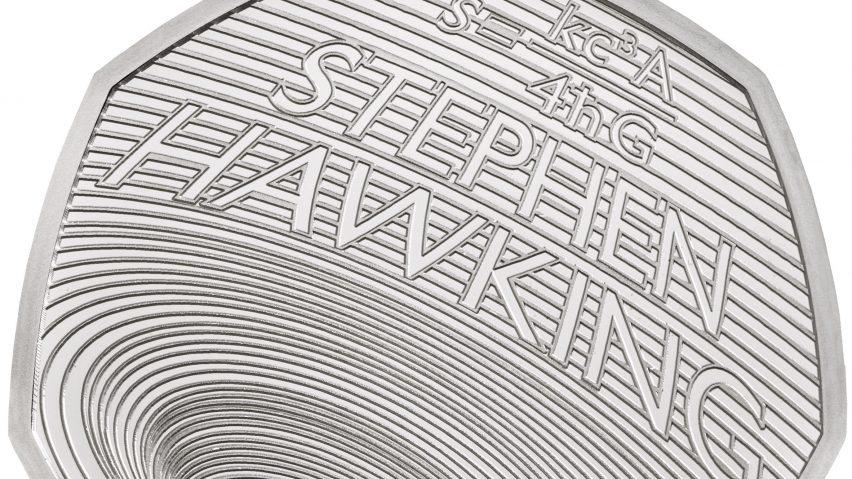 Stephen Hawking commemorative coin