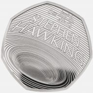 Stephen Hawking celebrated with new 50 pence coin