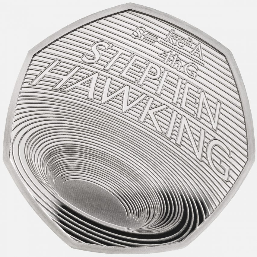 The late professor Stephen Hawking celebrated with new 50 pence coin