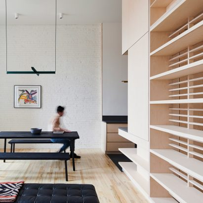 Attractive Baltic Birch Storage System Organises Brooklyn Apartment By Light And Air  Architecture