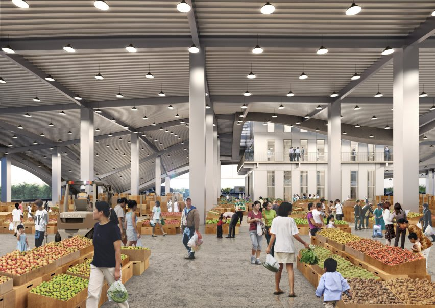 Tainan Xinhua Fruit and Vegetable Market by MVRDV