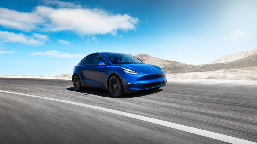 Tesla reveals latest Model Y electric SUV