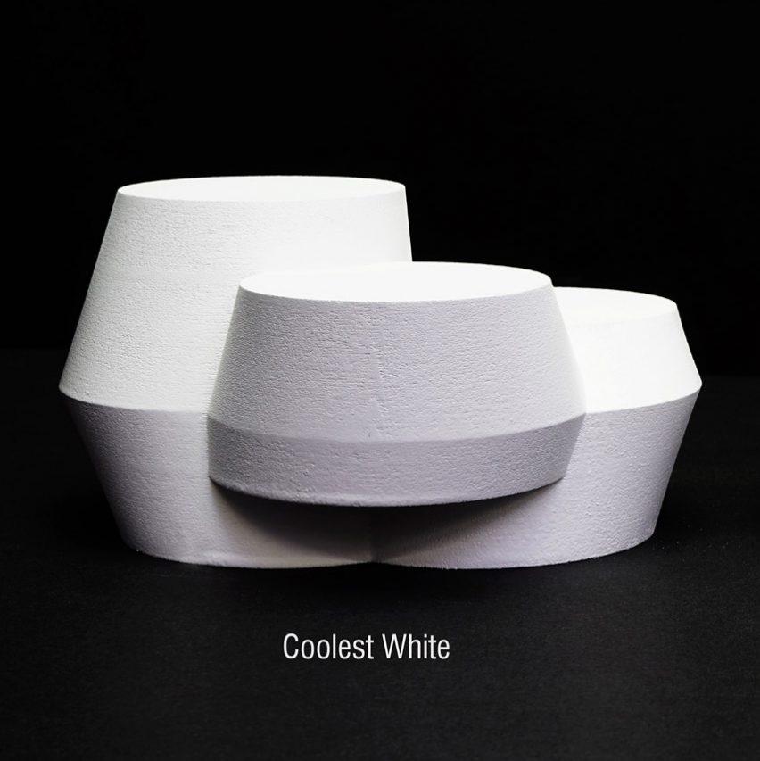 The Coolest White paint by UNStudio and UNStudioand Monopol Colors