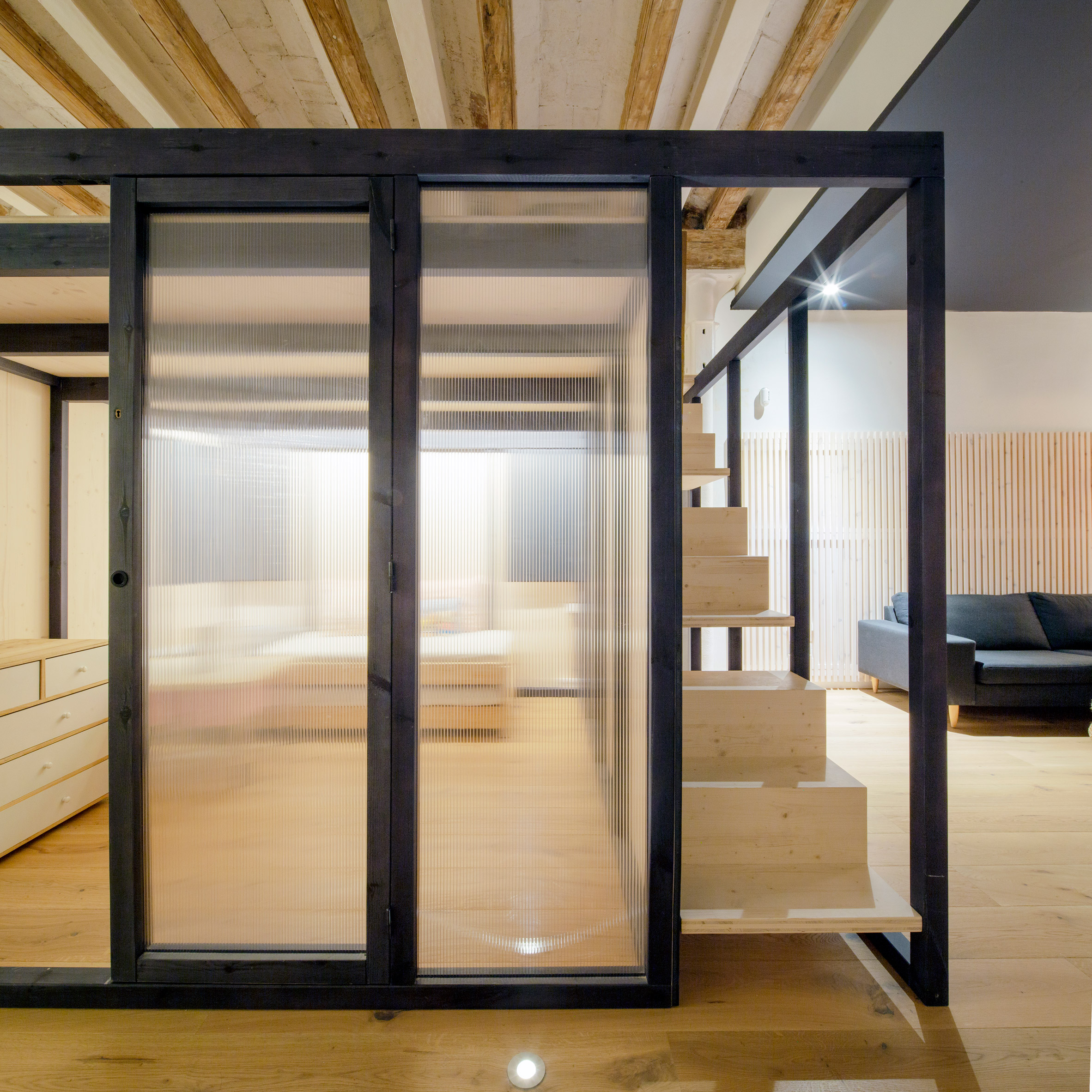 The Room shared workspace by Nook Architects in Barcelona