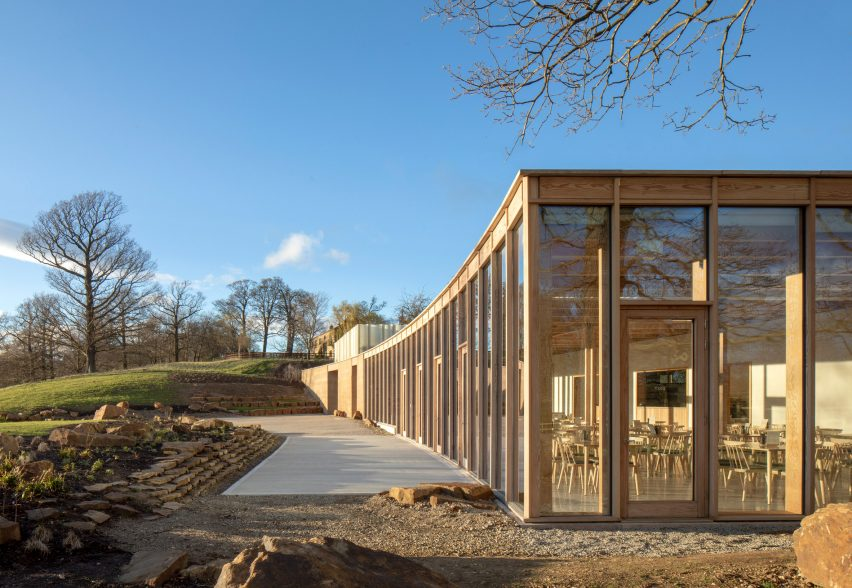 RIBA National Awards 2019: The Weston visitor centre at Yorkshire Sculpture Park by Feilden Fowles