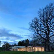 Feilden Fowles unveils The Weston visitor centre at Yorkshire Sculpture Park