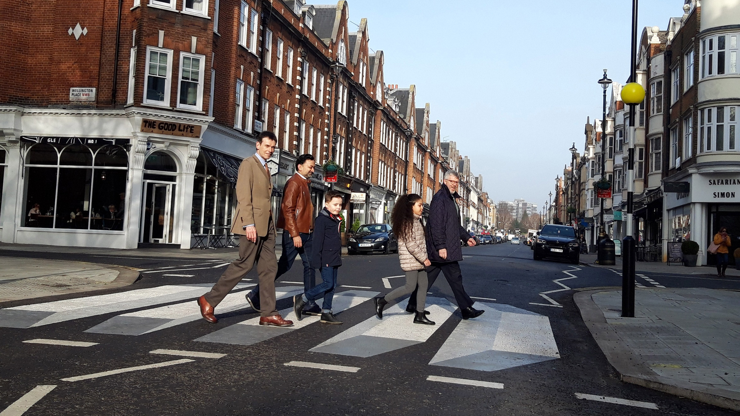 This week on Dezeen: London's first 3D zebra crossing