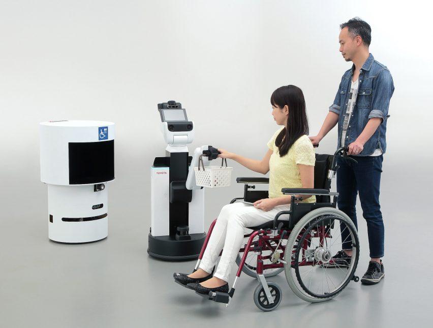 Tokyo Olympics 2020 robot