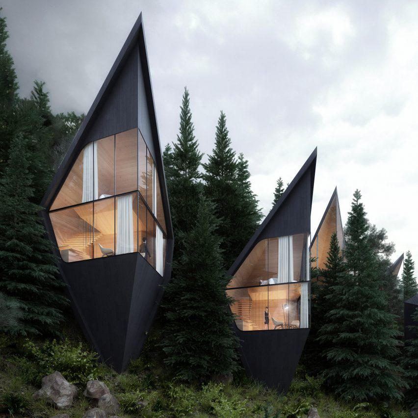 Peter Pichler Designs Tree House Hotel Rooms For Forest In The
