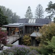 Stepped gardens wrap Feldman Architecture's renovated Twin Peaks Residence