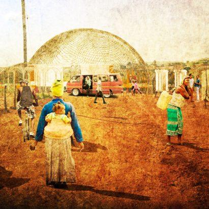 Ukubutha waste-to-energy infrastructure concept by Nicole Moyo