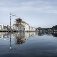 Construction photo of Under by Snøhetta in Båly, Norway