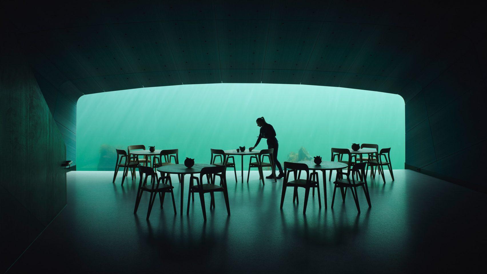 Первый в Европе подводный ресторан