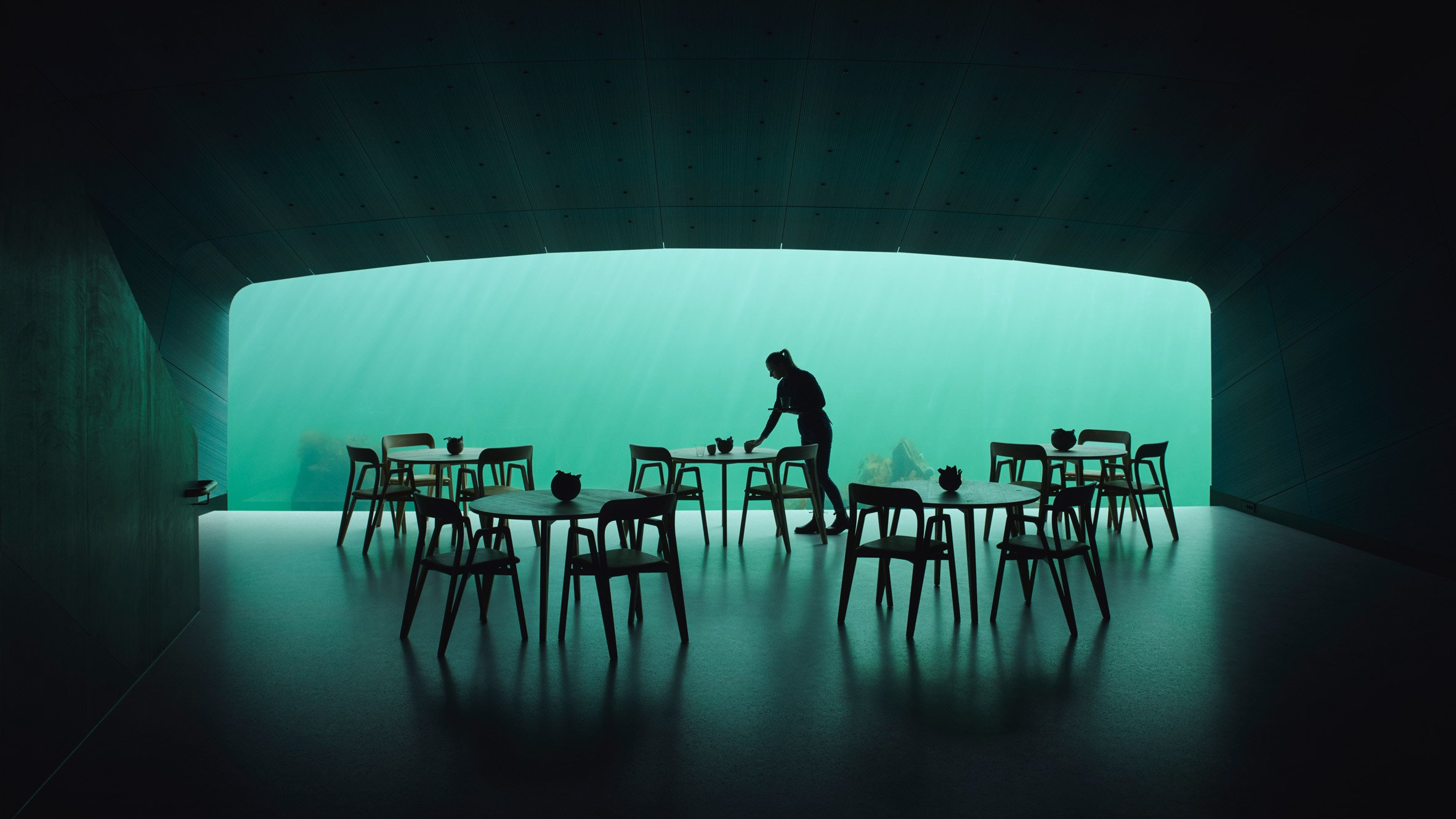 Snøhetta completes Europe's first underwater restaurant in