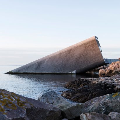 Under by Snohetta in Båly, south Norway
