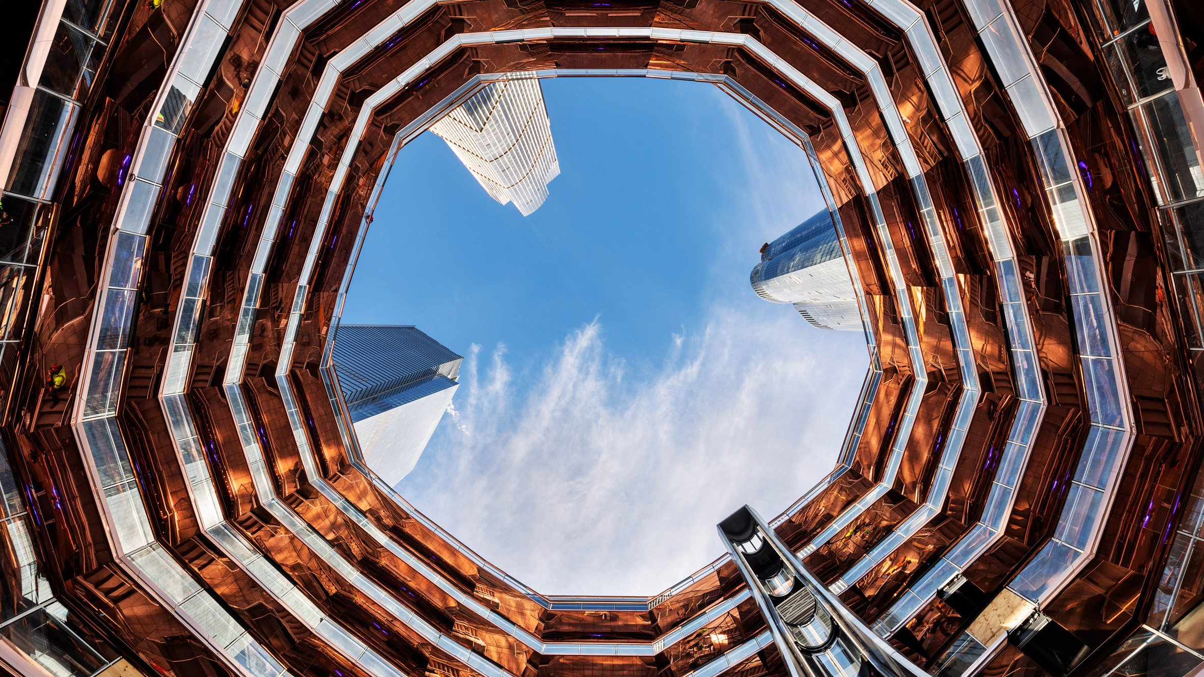 Heatherwick's Vessel at Hudson Yards opens to the public