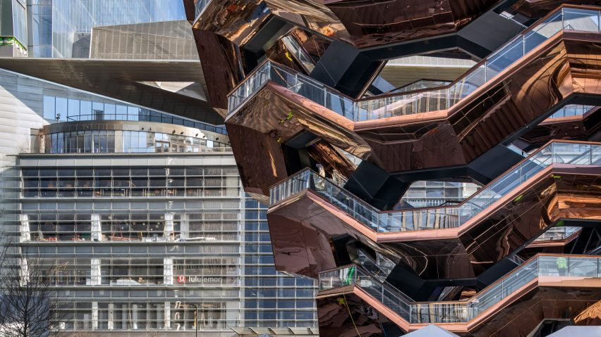 Vessel and The Shops and Restaurants at Hudson Yards