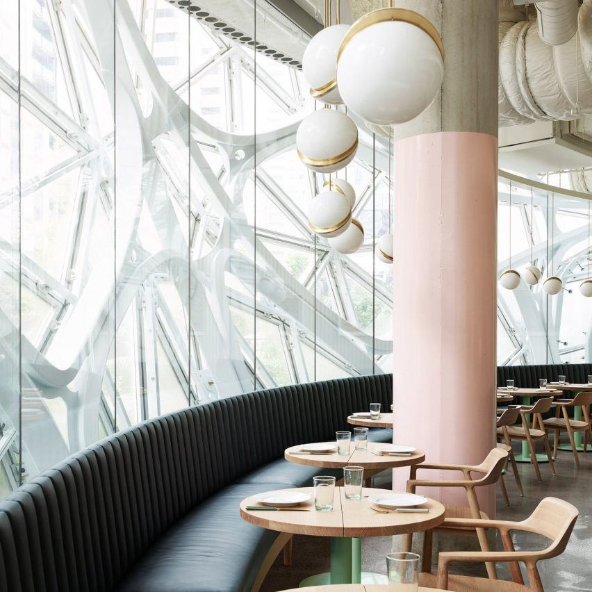 Willmott's Ghost restaurant opens inside Amazon Spheres in Seattle