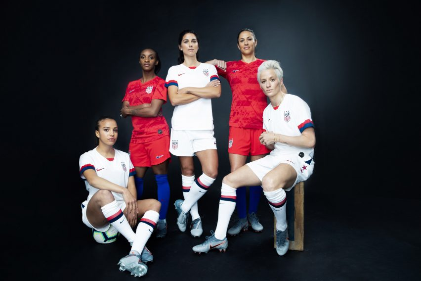2f946309fe3 Nike unveils Women's World Cup kits 2019 for 14 national teams