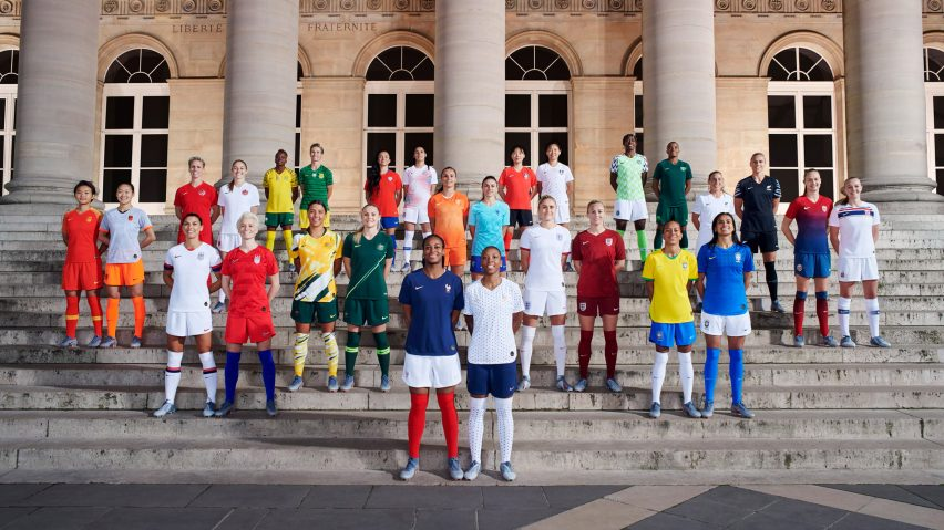 7b1db03b249 Nike unveils Women's World Cup kits for 14 national teams
