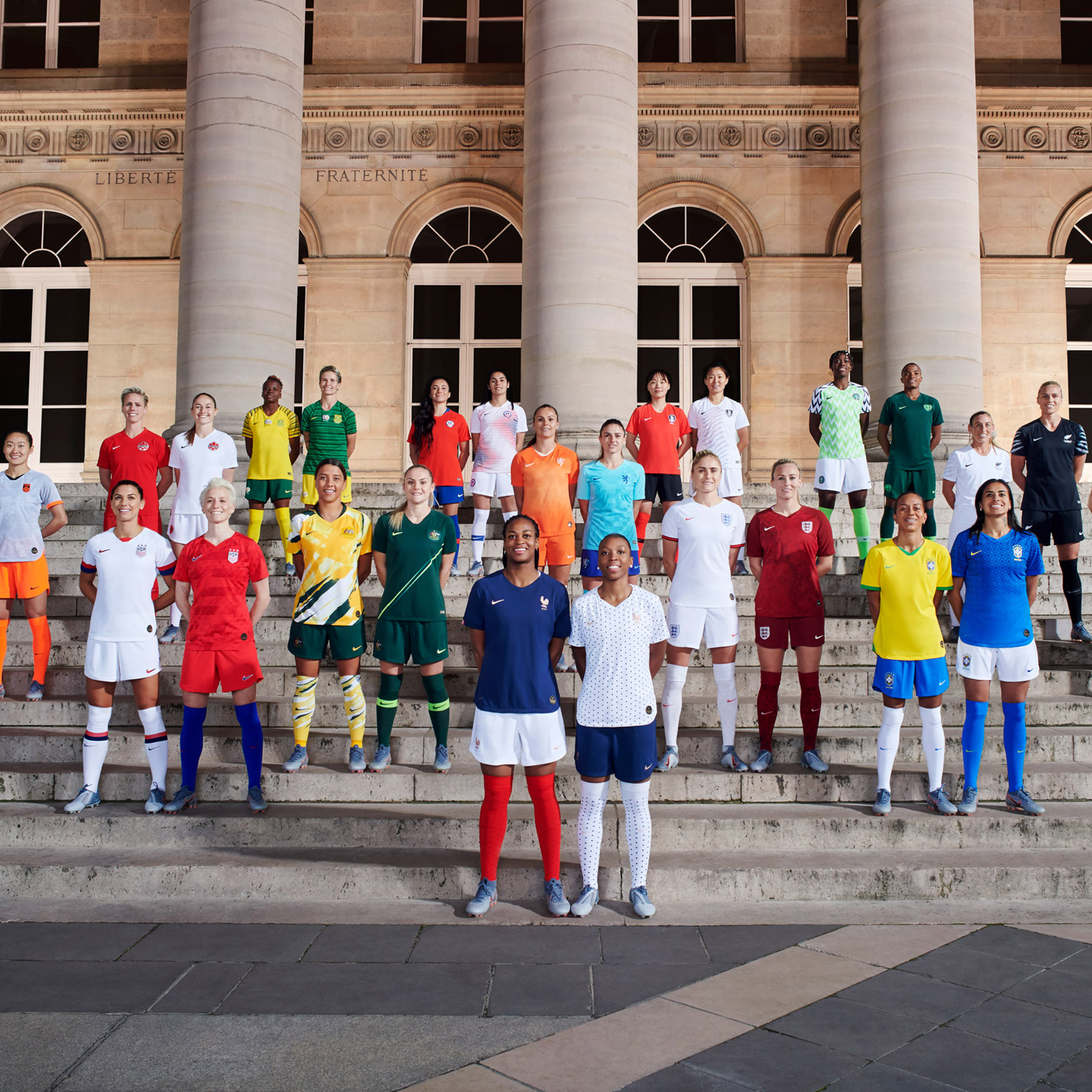 los angeles 9f17b a4aed Nike unveils Women's World Cup 2019 kits