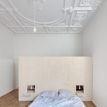 Ornate Plasterwork Ceilings Hint At Grand Past Of Renovated 19th Century  Apartment In Vilnius