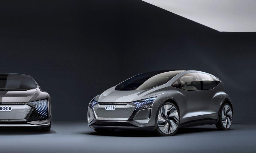 Audi AI:ME electric autonomous car Auto Shanghai
