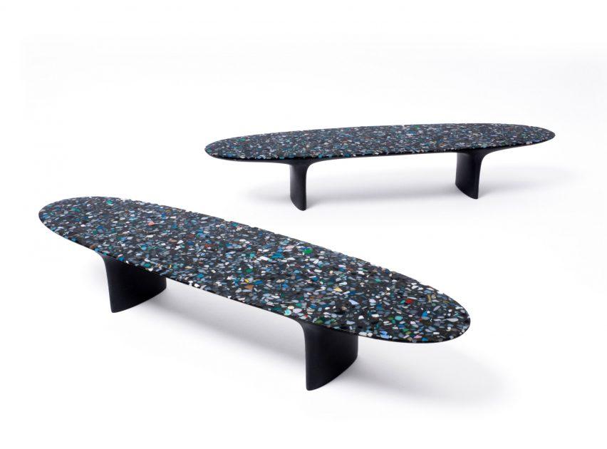 Brodie Neill The Capsule ocean plastic Milan design week