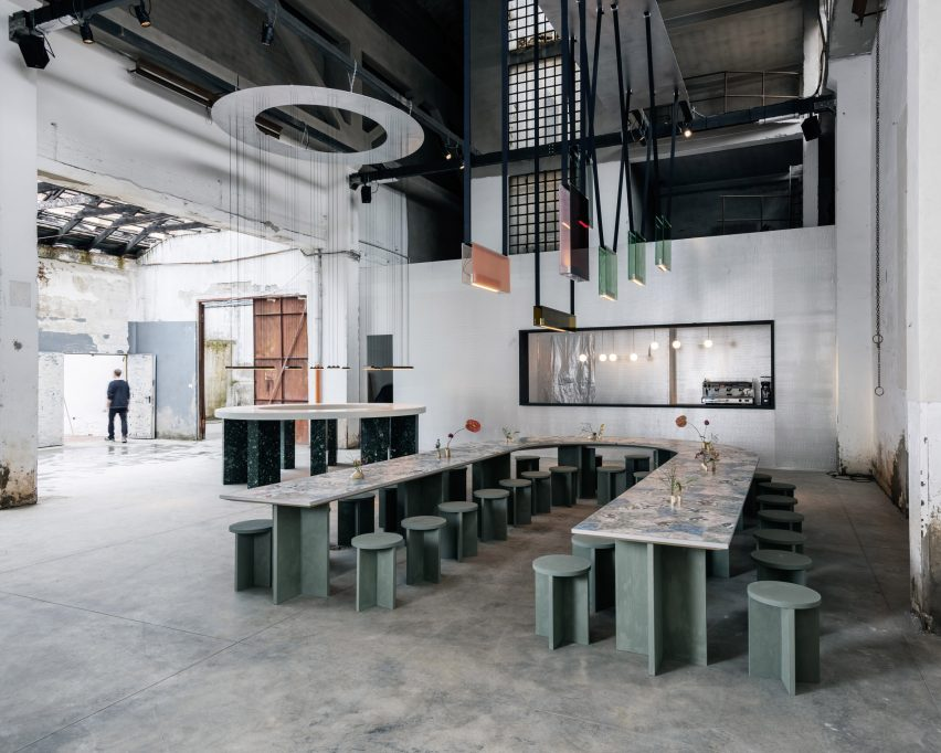 Caffe Populaire DWA设计工作室Lambert&FIls