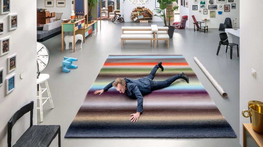 Richard Hutten And Dutch Designers Create Freedom Rugs For Carpet Sign