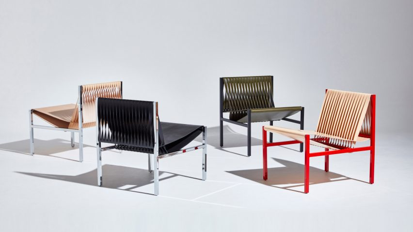 Dion Lee DesignByThem leather furniture