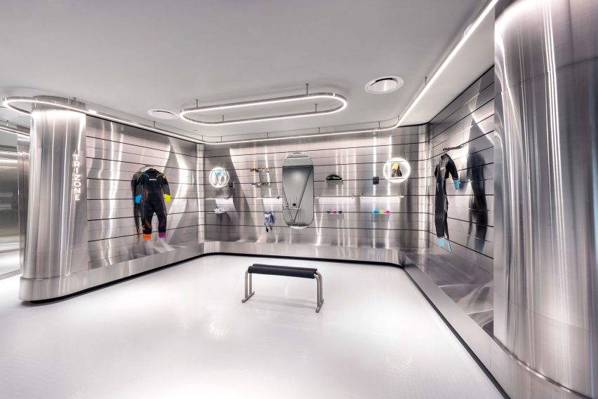 Durasport store by Ministry of Design at Jewel Changi airport