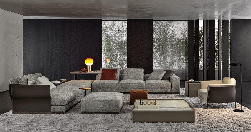 West sofa by Rodolfo Dordoni for Minotti