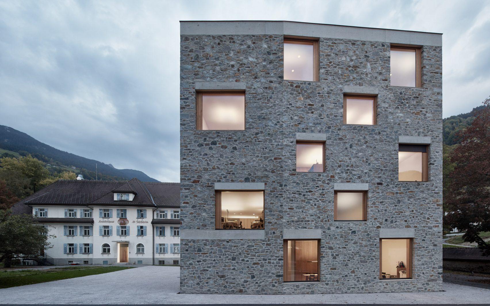 Alpin Sport ski centre by Bernardo Bader Architekten